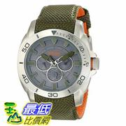 [美國直購] 男士手錶 BOSS Orange Men's 1513015 Shanghai Stainless Steel Watch with Green Nylon Band  $6919
