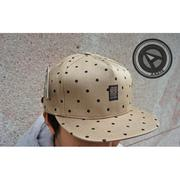 【A-KAY0】STUSSY 2013 春夏 POLKA DOT CAMP CAP 棒球帽 卡其【431001TN】