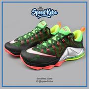 Nike Lebron XII 12 Low EP Remix螢光綠低筒 724558-003