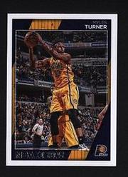 2016-17 Hoops #96 Myles Turner  印第安納溜馬隊