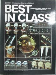 【書寶二手書T6/音樂_QIN】Best in Class_book1.percussion(drums & m