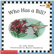 Phonics Readers Book 19: Who Has a Bill?
