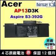 原廠 宏碁 Acer S3-392G 電池 AP13D3K S3-392 電池 acer S3