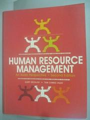 【書寶二手書T2/大學商學_YBD】Human Resource Management
