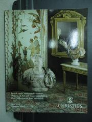 【書寶二手書T2/收藏_YHU】Christie's_French and Contin..._1994/3/24