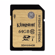 Kingston SDXC R:90MB/s (SDA10)U1 記憶卡 64GB 香港行貨