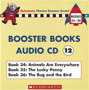 Phonics Booster Books Audio CD 12 (Book 34-36)