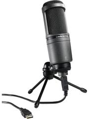 全新盒裝 Audio-Technica AT2020 USB PLUS Cardioid Condenser USB 麥克風 AT2020 USB 鐵三角