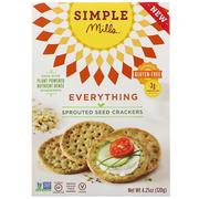 [iHerb] Simple Mills, Sprouted Seed Crackers, Everything, 4.25 oz