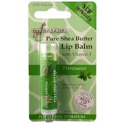 [iHerb] [iHerb] Out of Africa Lip Balm, Pure Shea Butter, Peppermint, 0.15 oz (4 g)