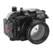 Kamera For Canon PowerShot G7X 潛水殼-黑(FOR G7X)