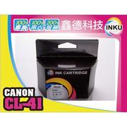 ✋INKU✋Canon 彩色環保墨水匣 CL 41 iP1200/MX308 / MX318 / MP198