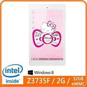 Genuine捷元 GenPad I08T3W-Kitty Tablet 平板電腦 附贈:Hello Kitty 粉紅皮套