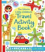 英國 The Usborne Little Children's Travel Activity Book 貼紙遊戲書 *夏日微風*