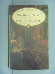 【書寶二手書T1/原文小說_GPS】The Great Gatsby_Fitzgerald