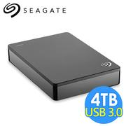 希捷 Seagate Backup Plus Portable 4TB 2.5吋行動硬碟 STDR4000300 黑色