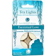[iHerb] Way Out Wax, Tea Lights, Escentual Love, 4 Candles, 0.6 oz (16 g) Each