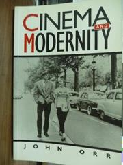 【書寶二手書T7/原文書_QGJ】Cinema and Modernity_Orr