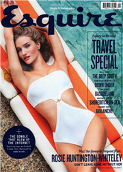 Esquire 英國版 4月號/2015:Rosie Huntington-Whiteley