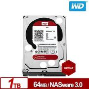◆快速到貨◆WD 威騰 紅標 1TB 3.5吋 NAS 專用硬碟 (WD10EFRX)