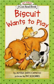 An I Can Read Book My First Reading: Biscuit Wants to Play