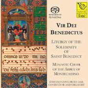 降福經 VIR DEI BENEDICTUS Liturgy of the Solemnity of Saint Benedict (SACD)【fone】