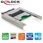 Delock CFast card Type I to 2.5吋SATA轉接板-91681