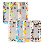 Disney iPhone 6 Plus/6s Plus TSUM TSUM可愛透明保護軟套-繞圈圈