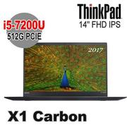 Lenovo 聯想 ThinkPad X1c 14吋 FHD IPS i5-7200U 8G 512G SSD Win10 Pro X1 Carbon
