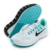 NIKE 女鞋 慢跑鞋 WMNS AIR ZOOM STRUCTURE 20湖水綠-849577101