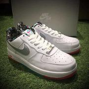 Nike Air Force 1 Low彩虹塗鴉  情侶款