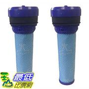 [106美國直購] 2 Washable & Reusable Pre-Motor HEPA Filters for Dyson DC39 Vacuums 923413-01 濾網