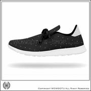 NATIVE  SHOES - APOLLO MOC - JIFFY BLACK / POLKA DOT(8195)