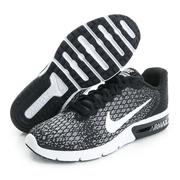 NIKE 女鞋 慢跑鞋 黑WMNS NIKE AIR MAX SEQUENT 2 - 852465002