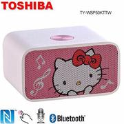TOSHIBA HELLO KITTY NFC無線藍芽喇叭 TY-WSP53KTTW