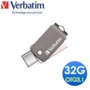 【Verbatim 威寶】32GB TYPE-C USB3.1 OTG 隨身碟