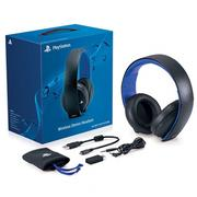 SONY PS4/PS3/PSV Wireless Stereo Headset 7.1 無線立體聲耳機 O2耳機 黑色