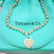 TIFFANY & Co. 迷你心牌串珠手鍊