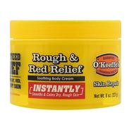 [iHerb] [iHerb] O'Keeffe's Rough & Red Relief Soothing Body Cream, 8 oz. (227 g)