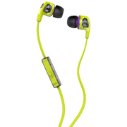 Skullcandy Smokin Buds 2 耳機 帶線控與咪 Hot Lime S2PGFY-319 香港行貨