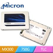 美光 Micron Crucial MX300 750GB 7mm 2.5吋 SATA SSD 固態硬碟