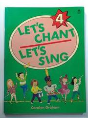 BF2《Lets Chant Lets Sing 4》ISBN:0194348946│Oxford
