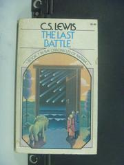 【書寶二手書T6/原文小說_GDA】The last battle_C. S. Lewis