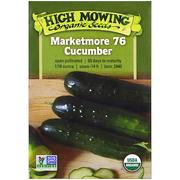[iHerb] [iHerb] High Mowing Organic Seeds Marketmore 76 黃瓜,1/16 盎司
