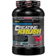 ALLMAX Nutrition, Creatine Krush Loaded, 100% Pharma-Grade Creatine + L-Glutamine + Electrolyte Rehydration, Fruit Punch, 3.3 lbs (1500 g)