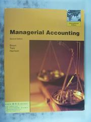 【書寶二手書T4/大學商學_PGF】Managerial Accounting_Karen