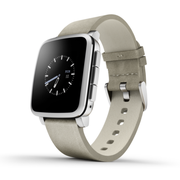 Pebble Time Steel 銀色