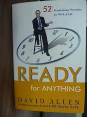 【書寶二手書T4/原文書_QGJ】Ready for Anything_David Allen