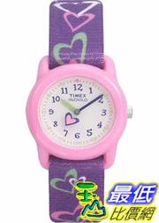 [美國直購 ShopUSA] Timex 手錶 Children's T7B111 Purple Nylon Quartz Watch with White Dial
