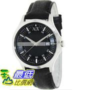[美國直購 ShopUSA] Armani Exchange 手錶 Men's AX2126 Black Leather Quartz Watch with Black Dial #1681897595 _mr